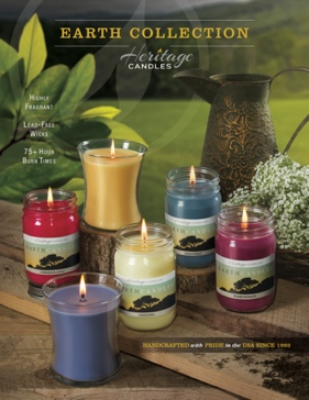Earth Collection Candles Fundraiser